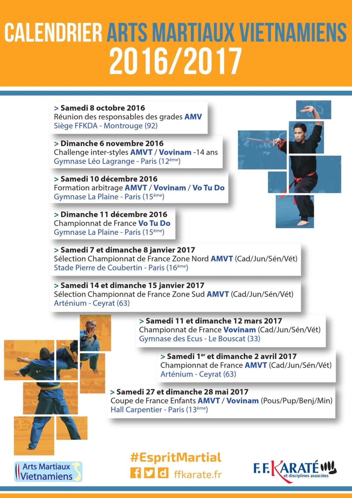 Calendrier arts martiaux vietnamiens 2016 2017 tay son for Arts martiaux pdf