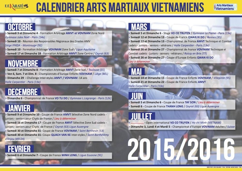 Calendrier arts martiaux vietnamiens 2015 2016 tay son for Arts martiaux pdf